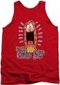 Garfield tank top Friday mens red