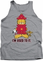 Garfield tank top I'm Used To It mens heather