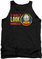 Garfield tank top I Only Look Harmless mens black