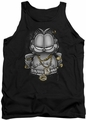 Garfield tank top Lasagna For Life mens black