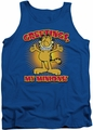 Garfield tank top Minions mens royal