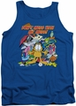 Garfield tank top My Mess mens royal