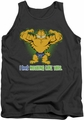 Garfield tank top Nothing Like This mens charcoal