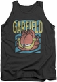 Garfield tank top Rad Garfield mens charcoal