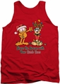Garfield tank top Share The Season mens red