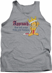 Garfield tank top State Your Business mens heather