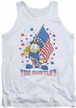 Garfield tank top Subtle mens white