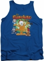 Garfield tank top The Garfield Show mens royal