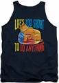 Garfield tank top Too Short mens navy