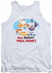 Garfield tank top Well Done mens white