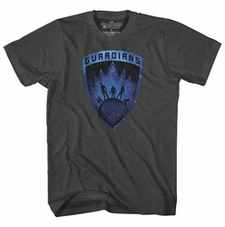 Gaurdians Of The Galaxy Guardians Badge Black Sub T-Shirt pre-order