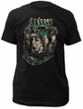 Genesis fitted jersey tee charisma mens black pre-order
