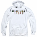 Genesis pull-over hoodie New Logo adult White