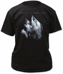 Genesis seconds out adult tee black t-shirt pre-order