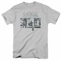 Genesis t-shirt The Lamb Down On Broadway mens Silver