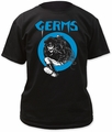 Germs Skeleton In Leather Adult t-shirt