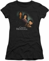 Ghost Whisperer juniors t-shirt Diagonal Cast black