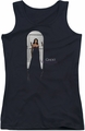 Ghost Whisperer juniors tank top Doorway black