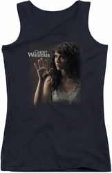 Ghost Whisperer juniors tank top Ethereal black