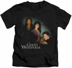 Ghost Whisperer kids t-shirt Diagonal Cast black