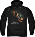 Ghost Whisperer pull-over hoodie Diagonal Cast adult black