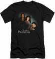 Ghost Whisperer slim-fit t-shirt Diagonal Cast mens black