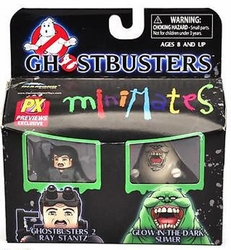 Ghostbusters Minimates Px Ray & Glow Slimer