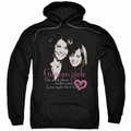 Gilmore Girls pull-over hoodie Title adult black