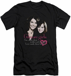 Gilmore Girls slim-fit t-shirt Title mens black