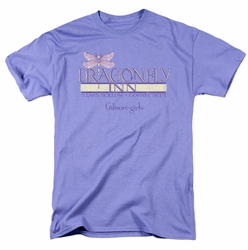 Gilmore Girls t-shirt Dragonfly Inn 2 mens lavender