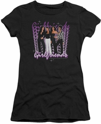 Girlfriends juniors t-shirt Girlfriends black