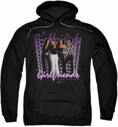 Girlfriends pull-over hoodie Girlfriends adult black