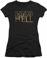Gladiator juniors t-shirt Unleash Hell black
