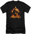 Gladiator slim-fit t-shirt My Name Is mens black