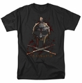 Gladiator t-shirt Helmet mens black