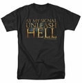 Gladiator t-shirt Unleash Hell mens black