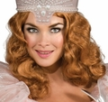 Glinda adut Wig costume accessory Wizard Oz