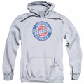 GM Buick pull-over hoodie Authorized Service adult Athletic Heather
