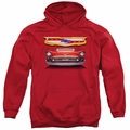 GM Chevy pull-over hoodie 1957 Bel Air Grille adult Royal Blue