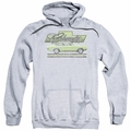 GM Chevy pull-over hoodie Vega Car Of The Year 71 adult Athletic Heather