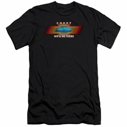 GM Chevy slim-fit t-shirt Chevy We'Ll Be There Tv Spot mens Black