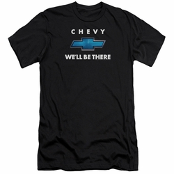 GM Chevy slim-fit t-shirt We'Ll Be There mens Black