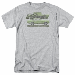 GM  Chevy t-shirt Vega Car Of The Year 71 mens Athletic Heather