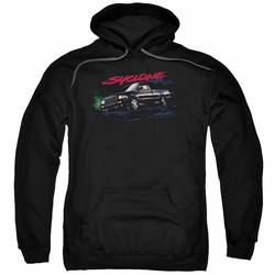 GM GMC pull-over hoodie Syclone adult Black