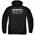 GM Hummer pull-over hoodie Grill adult Black