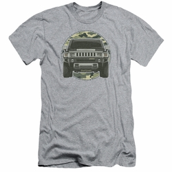 GM Hummer slim-fit t-shirt Lead Or Follow mens Athletic Heather