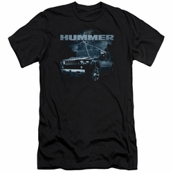 GM Hummer slim-fit t-shirt Stormy Ride mens Black