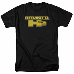 GM  Hummer t-shirt H2 Block Logo mens Black