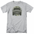 GM  Hummer t-shirt Lead Or Follow mens Athletic Heather