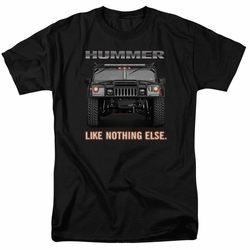 GM  Hummer t-shirt Like Nothing Else mens Charcoal